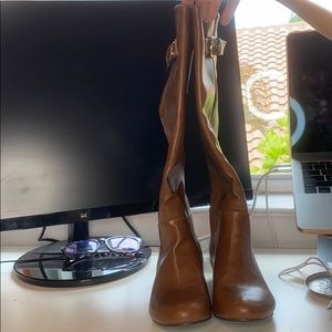 Shoedazzle knee high boots